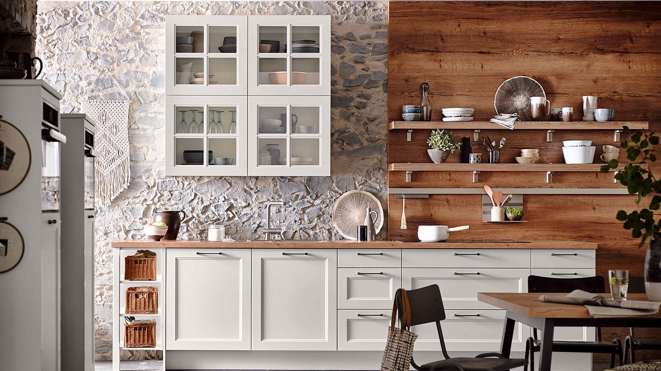 Landhauskuchen Modern Traditionell Oder Aus Holz