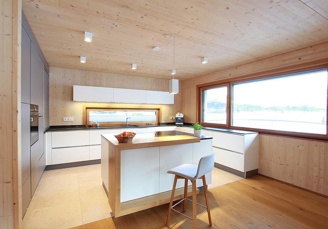 Küche Holzhaus  Laserer Tischler Salzburg & Gosau